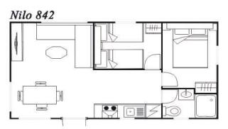 Modelo Nilo 842 32m²