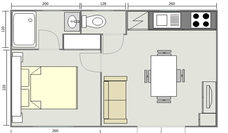 Mobil Home 21m² Java 6543