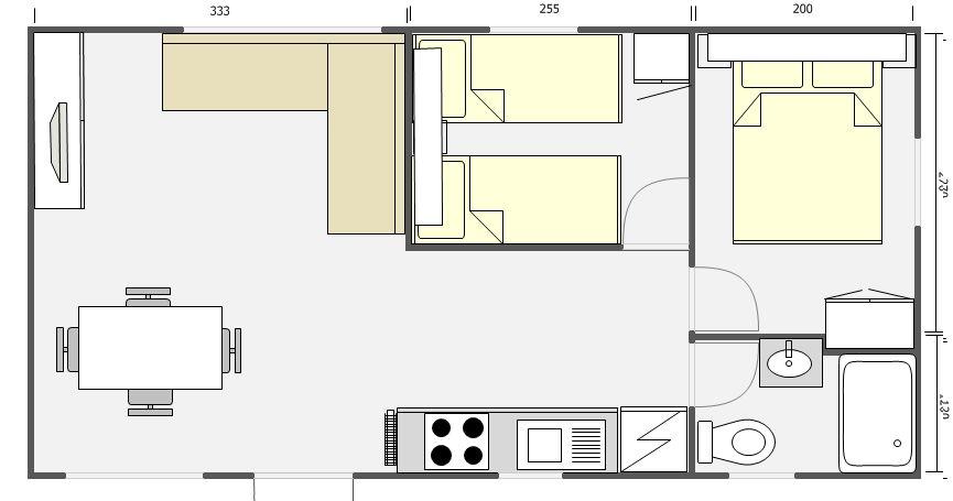Mobil Home 32m² Arabigo 842