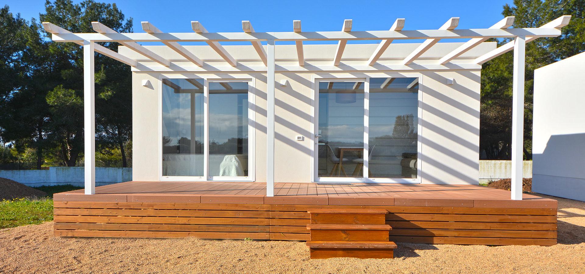 Casas móviles de diseño funcional
