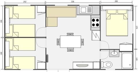 Mobil Home 32m² Baltico 843
