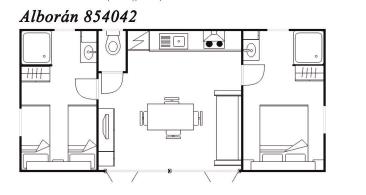 Modelo Alborán 854042 34m²