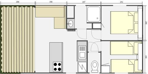 Mobil Home 34m² Lagos 8542T