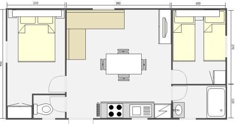 Mobil Home 32m² Caspio 842