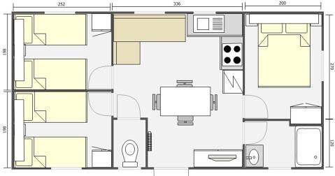 Mobil Home 32m² Adriatico 843